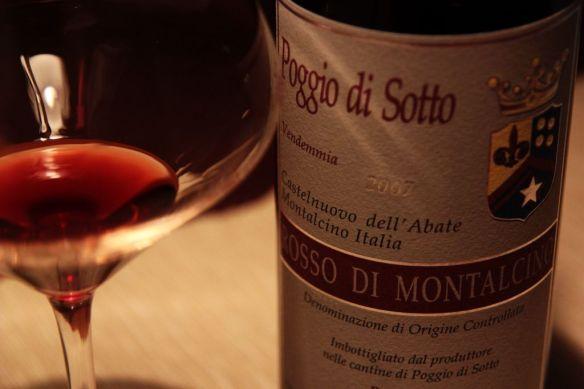 Faszinierend: 2007 Poggio di Sotto Rosso di Montalcino