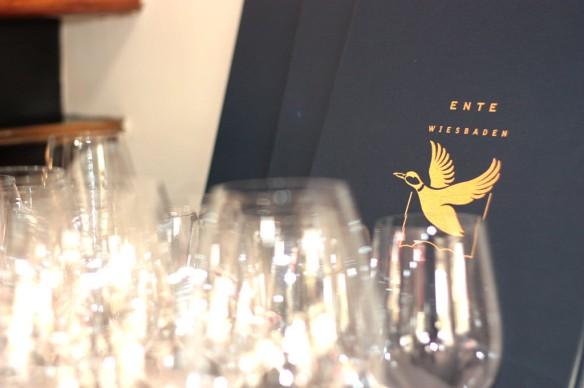 Die Ente in Wiesbaden